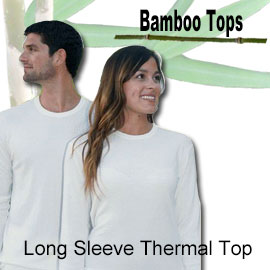 long sleeve thermal bamboo top online shop category