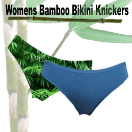comfortable womens bamboo knickers in a bikini style. Many sizes and colours available though our online bamboo product store.