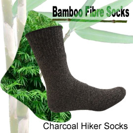 Charcoal hiker bamboo socks online shop category