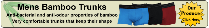 very comfortable mens bamboo trunks in many different colours.