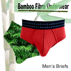 comfortable bamboo fibre mens briefs in many sizes and colours