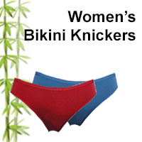 womens bikini bamboo knickers online shop category