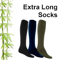extra long bamboo socks online shop category
