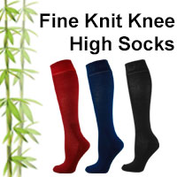 knee high bamboo socks online shop category