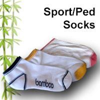 bamboo sport/ped socks online shop category many colour combinations available