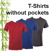 mens bamboo t-shirts without pockets online shop category
