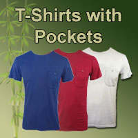 mens bamboo t-shirts with pockets online shop category