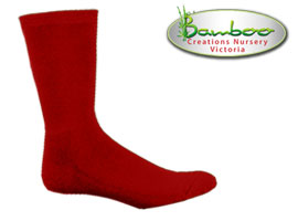 Comfort business Socks - Burnt Red