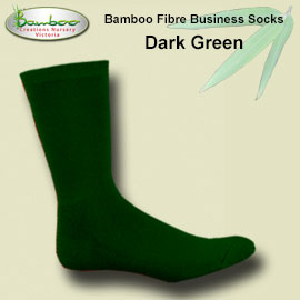 Comfort business Socks - Dark Green