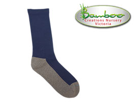 Charcoal Health Bamboo Socks - Navy