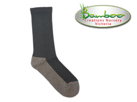 Charcoal Health Bamboo Socks - Slate