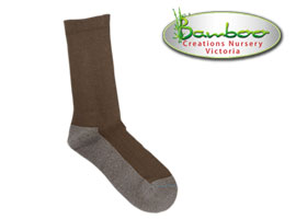 Charcoal Health Bamboo Socks - Walnut