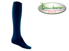 Extra Long Socks - Navy