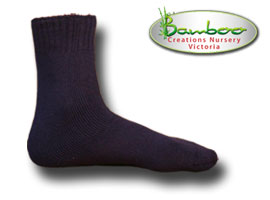 Extra Thick Bamboo Socks - Blue