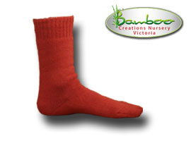 Extra Thick Bamboo Socks - Watermelon