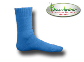 Extra Thick Bamboo Socks - NSW state of origin blue