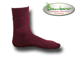 Extra Thick Bamboo Socks - Purple