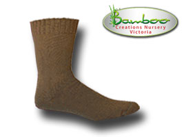 Extra Thick Bamboo Socks - Tan