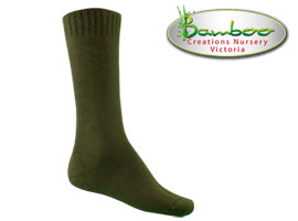 Fast drying bamboo socks - Khaki