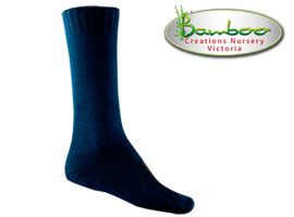 Fast drying bamboo socks - Navy
