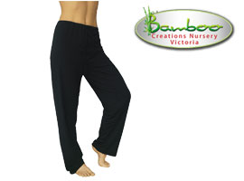 Bamboo kajual leggings - black