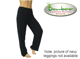Bamboo kajual leggings - navy
