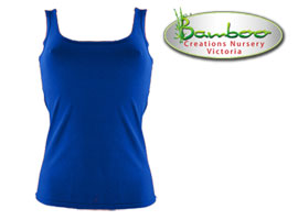 Womans singlets - Blue