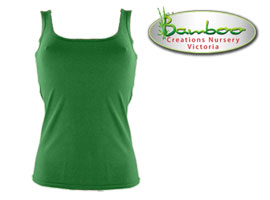 Womans singlets - Green