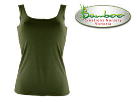 Womans singlets - Olive