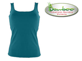 Womans singlets - Teal