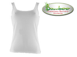 Womans singlets - White